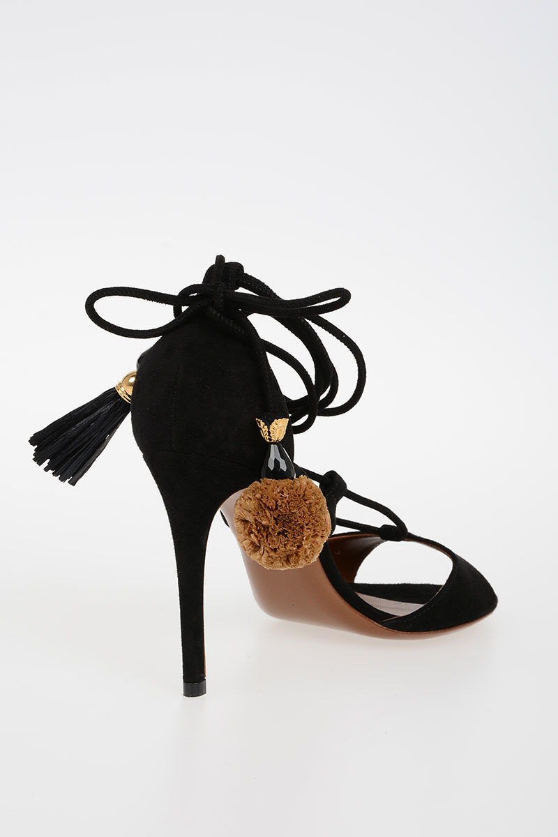 b206825c7 Dolce   Gabbana 9 cm Suede KEIRA Sandals women - Glamood Outlet
