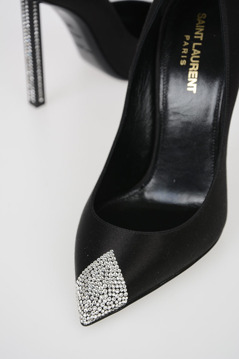 e077a3fd052 Saint Laurent 9cm Decolletè with Jewel Heel women - Glamood Outlet