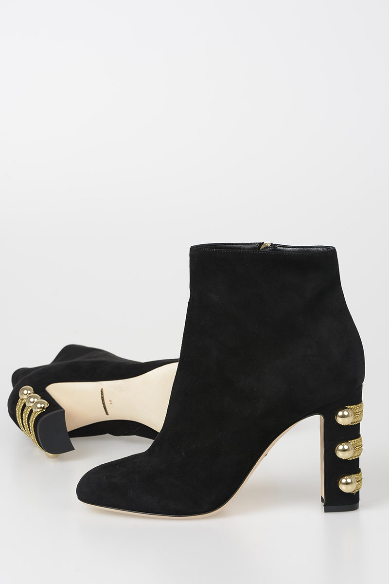Dolce   Gabbana 9cm Leather Boots women - Glamood Outlet ac788d1717d