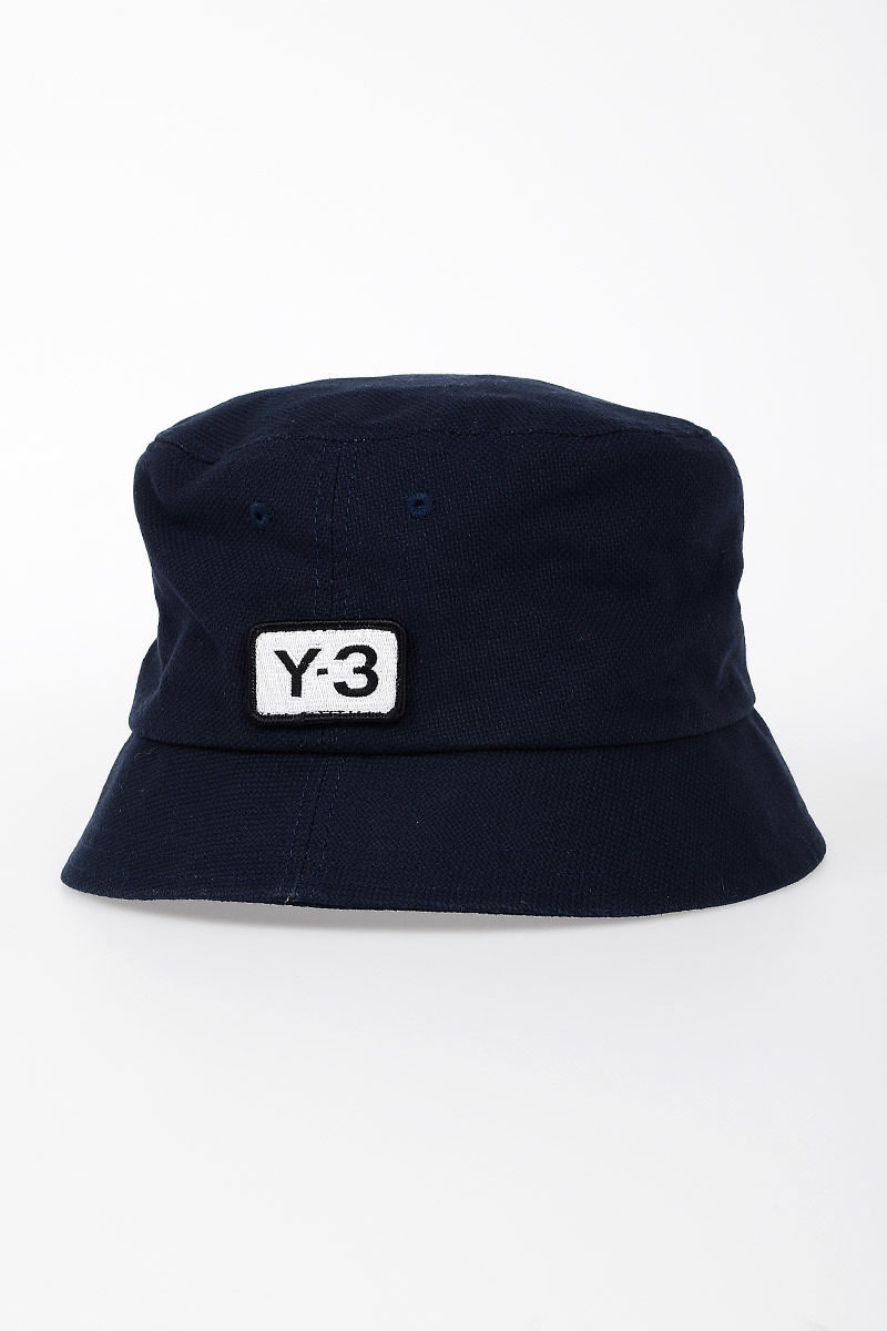 86be6d5ffb7 Y-3 by Yohji Yamamoto ADIDAS Bucket Cotton Hat men - Glamood Outlet