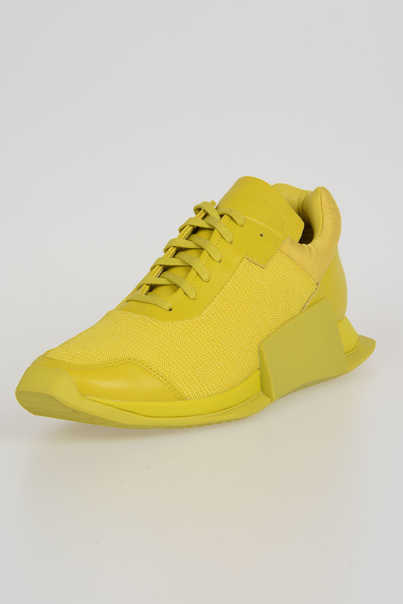 ADIDAS for RICK OWENS - LEVEL RUNNER LOW II Sneakers GREEN/NEON Spring/summer Rick Owens njfdq