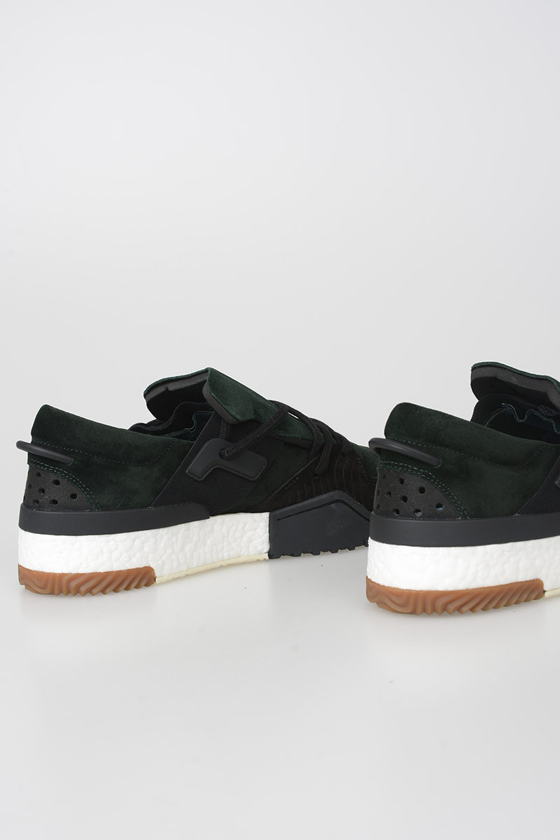 abaa97757 Adidas ALEXANDER WANG Leather BBALL LO Sneakers - Glamood Outlet