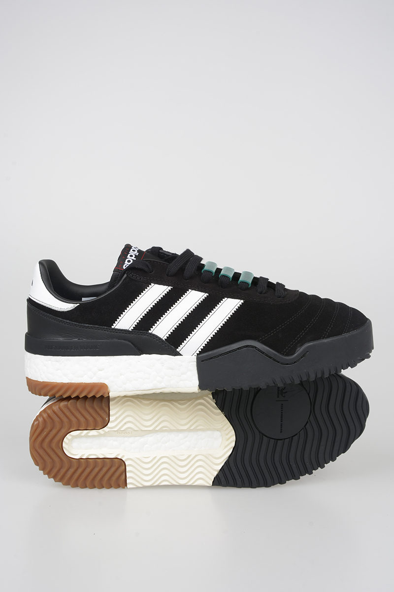 640d81aff Adidas ALEXANDER WANG Leather BBALL SOCCER Sneakers - Glamood Outlet