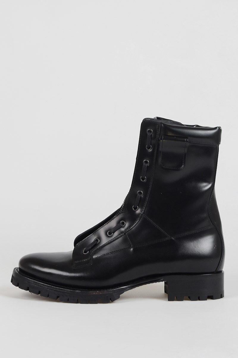 Dsquared2 Anfibi ASYLUM in Pelle uomo - Glamood Outlet 78ee1156bb8
