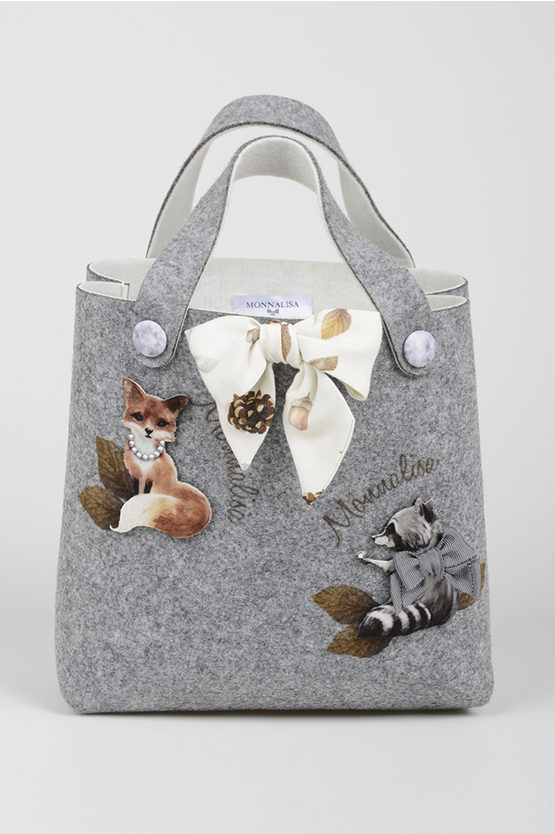 Animals Embroidered Bag