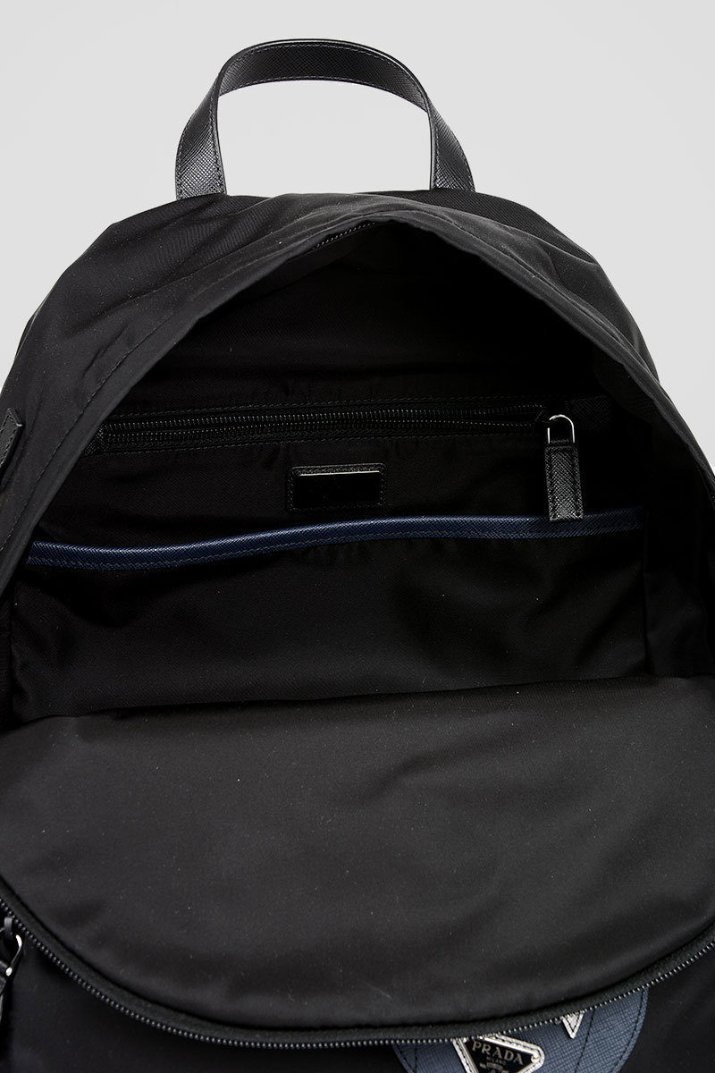 02aa6d013c8a Prada Backpack with Saffiano Leather Details men - Glamood Outlet