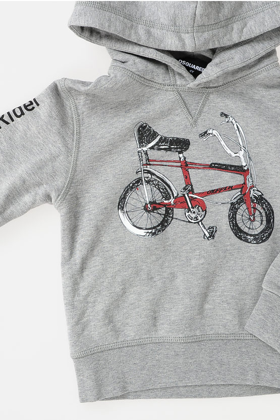 Bicycle Printed Sweatshirt