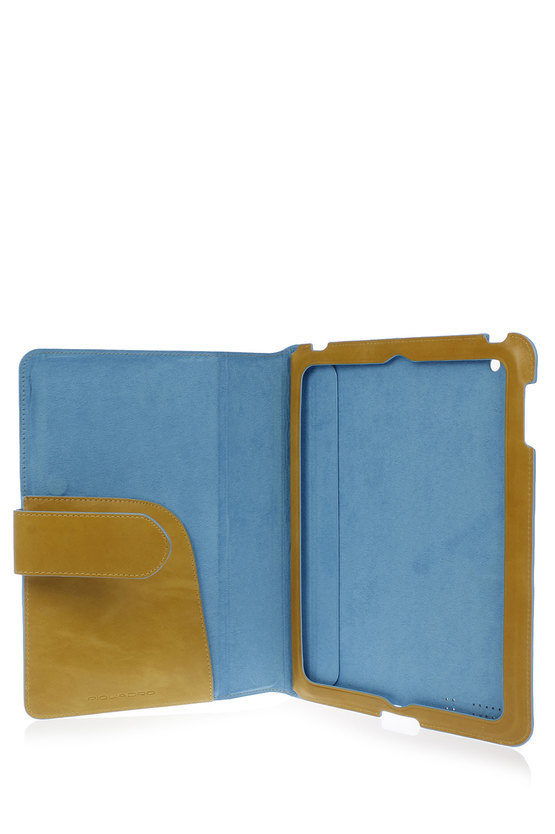 BLUE SQUARE Leather Stand Up iPad Case