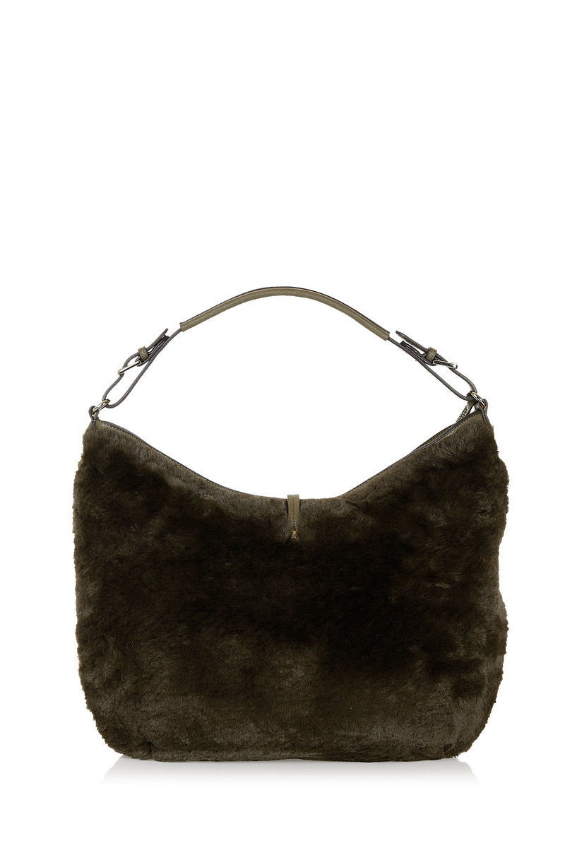 4b6d9b1302 Pinko BORA Fake Fur Hobo Bag women - Glamood Outlet