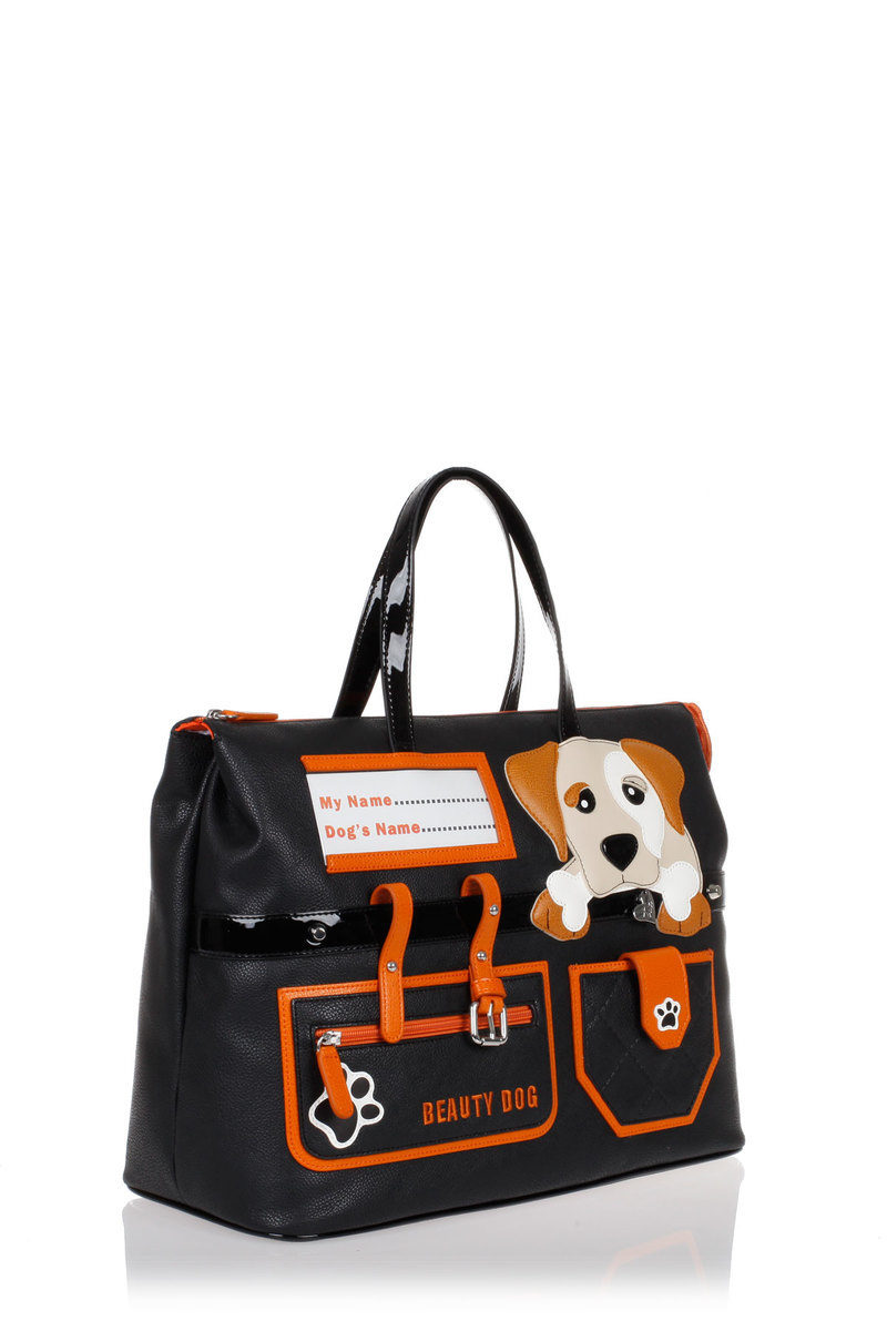 2f0ce0bb7f Braccialini Borsa Shopper DOG a Mano donna - Glamood Outlet