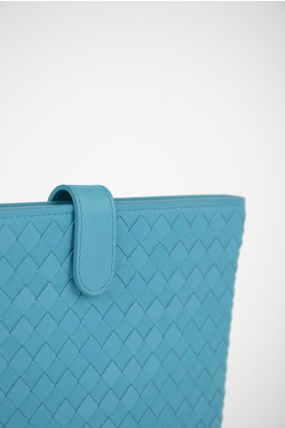Braided Leather Tablet Case
