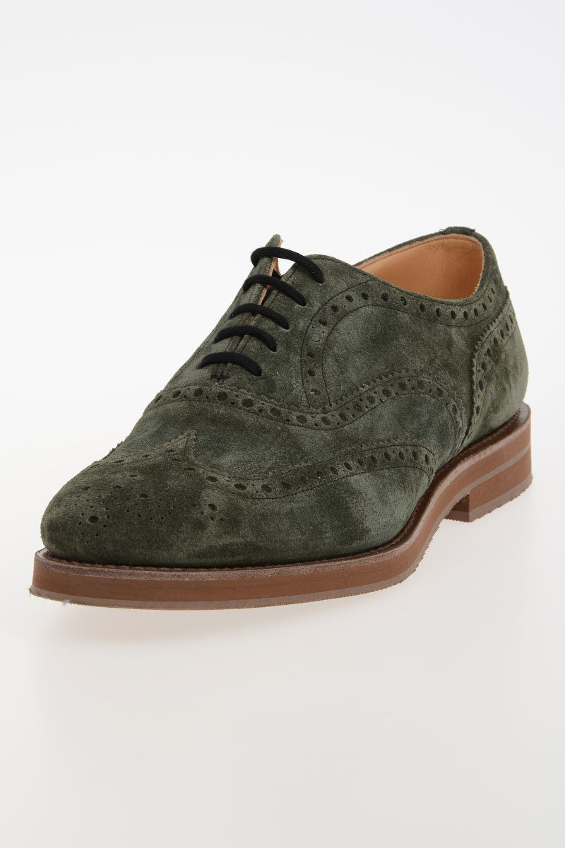 Brogue Leather DOWNTON Derby Shoes Spring/summer Churchs shaxv7