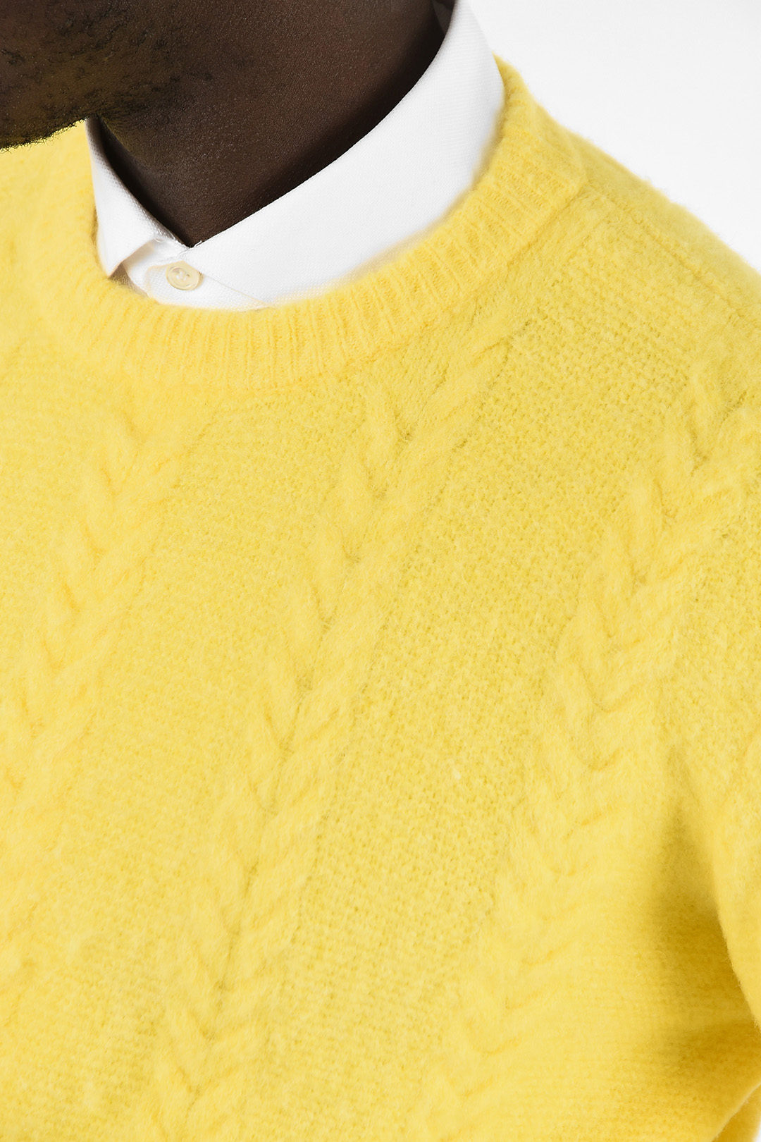Roberto Collina Cable Knit Sweater Men Glamood Outlet