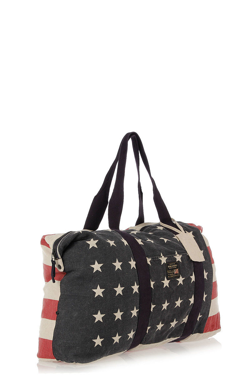a3a8682cb3a9 Ralph Lauren Canvas American Flag Tote Bag men - Glamood Outlet