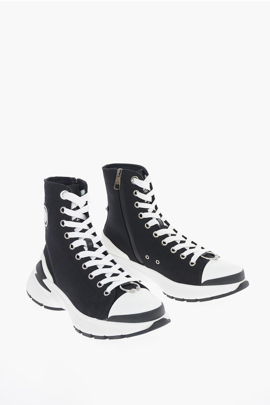 Canvas BOLT 02 MONOGRAM PIERCED Sneakers