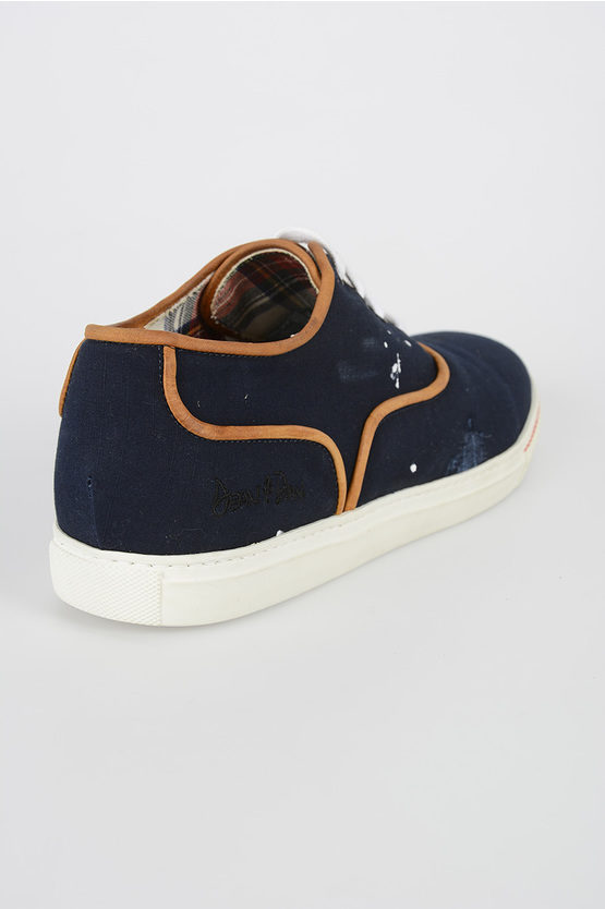 Canvas Low Top Sneakers