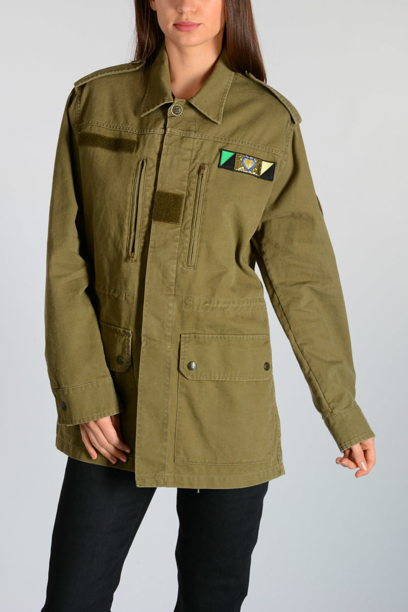 262b7f840 Canvas Parka with Patches