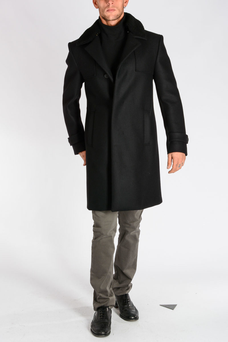 best website 3bd93 90e80 Cappotto in Feltro di Lana e Cashmere