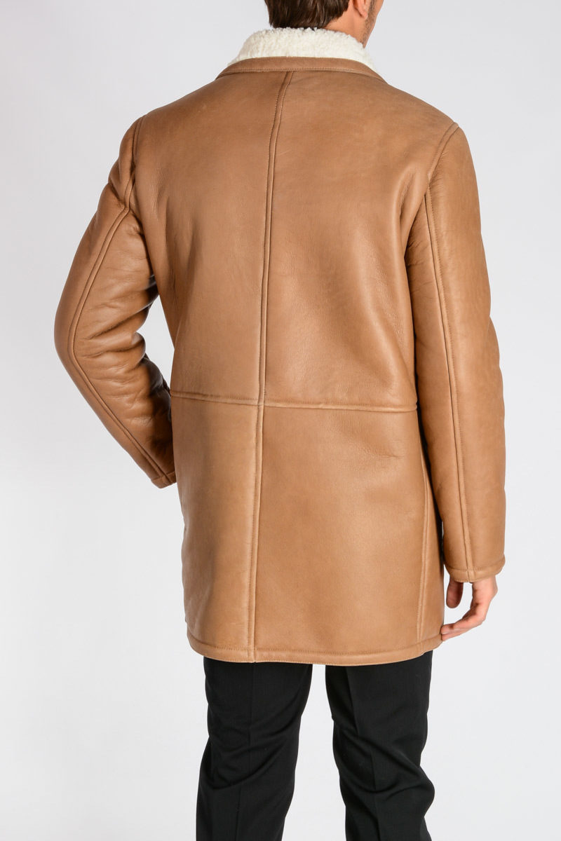 Glamood Cappotto Pelle Shearling Drome In Uomo Outlet dXtqq6wn
