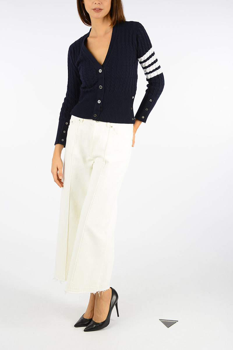 8978d8626c Thom Browne Cashmere Cardigan women - Glamood Outlet