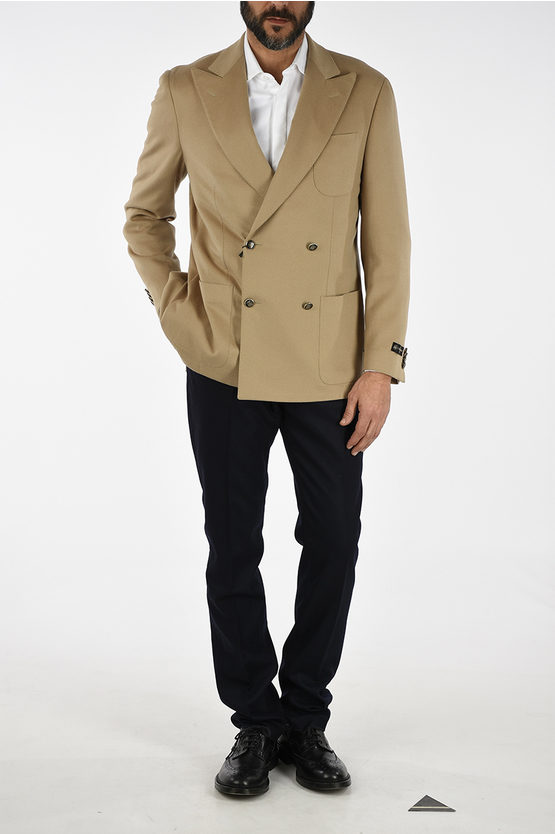Cashmere Double Breast Blazer