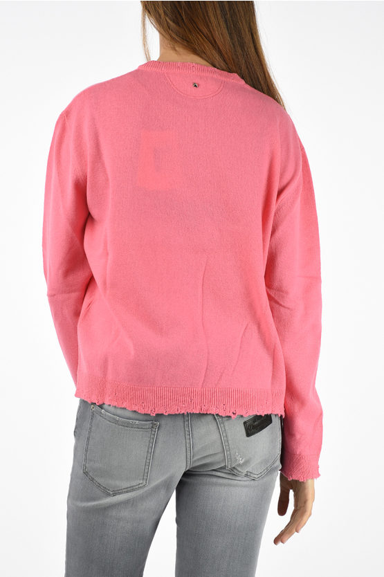 Cashmere PINK IS PUNK Sweater