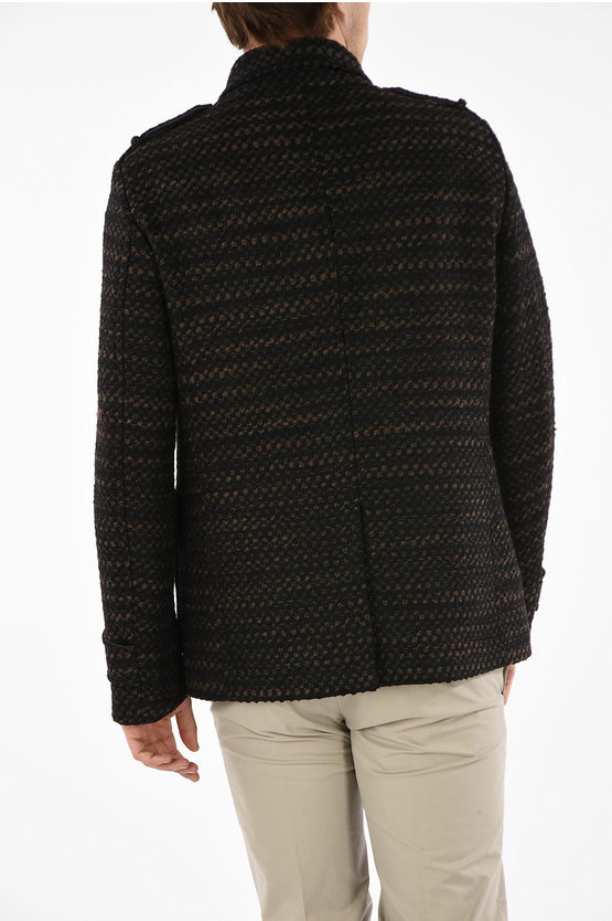 CC COLLECTION Bouclé Double Breasted Jacket