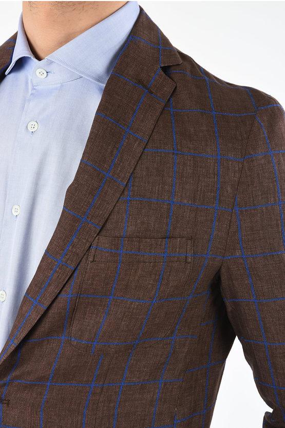 CC COLLECTION checked blazer