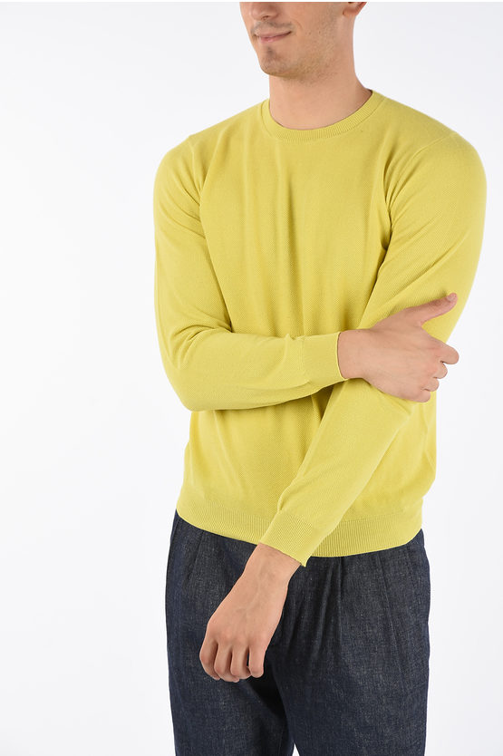 CC COLLECTION Cotton Crewneck Sweater