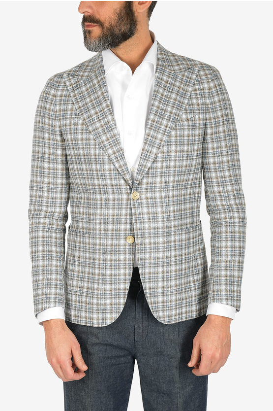 CC COLLECTION gun club check REWARD blazer