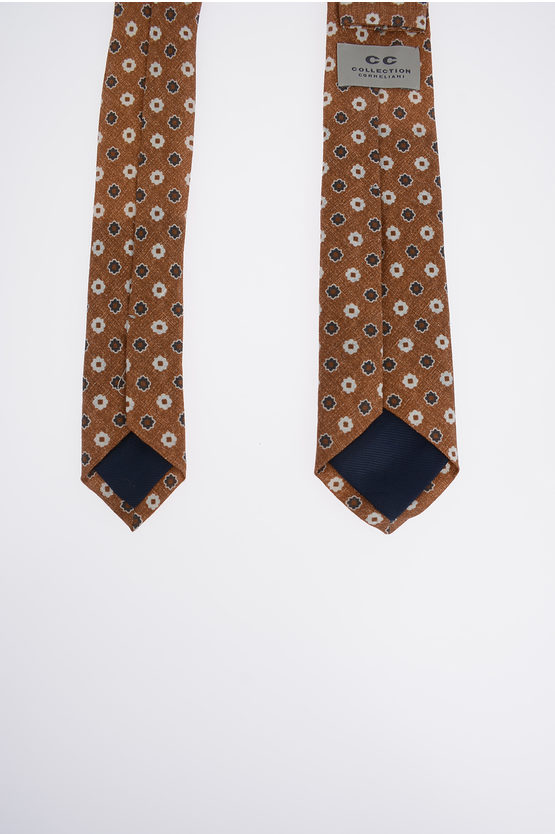 CC COLLECTION Linen Printed Tie