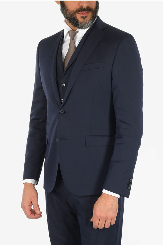 CC COLLECTION RESET drop 8R 3 piece waistcoat suit