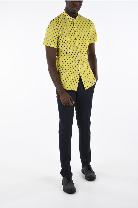 CC COLLECTION short sleeve button-down shirt