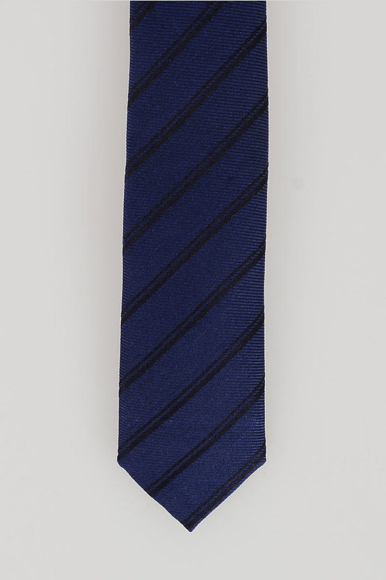 CC COLLECTION Silk Striped Tie