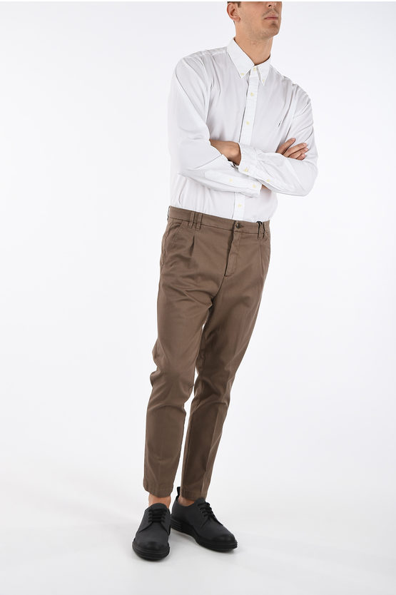 CC COLLECTION Stretchy Cotton Chino Pants