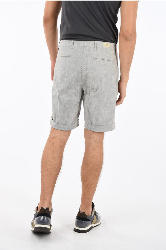 CC COLLECTION Striped shorts