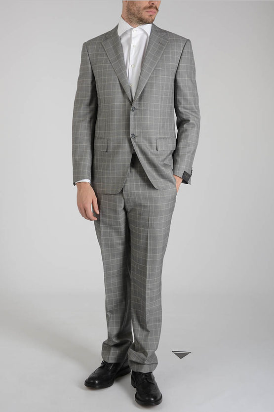 Checked MANTUA Suit