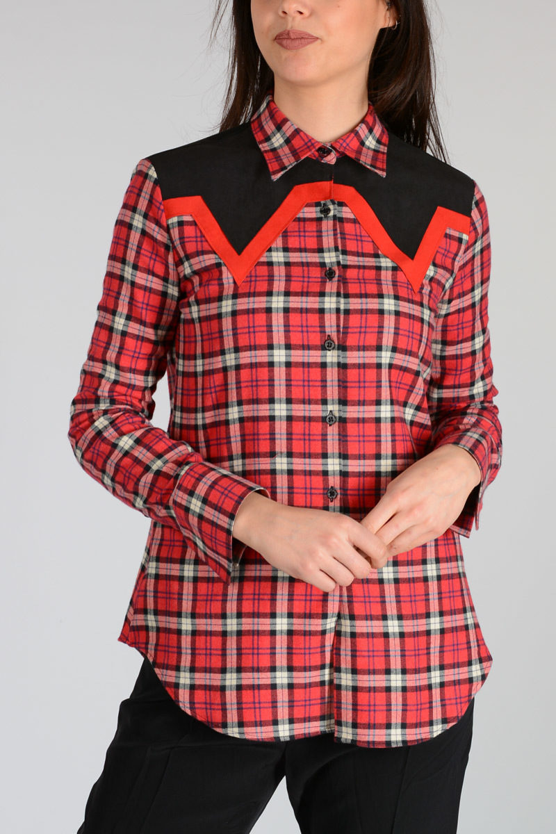 Checked Slim Fit Shirt Spring/summer Neil Barrett Best Place Purchase Cheap Online Outlet Find Great k2sjUg8