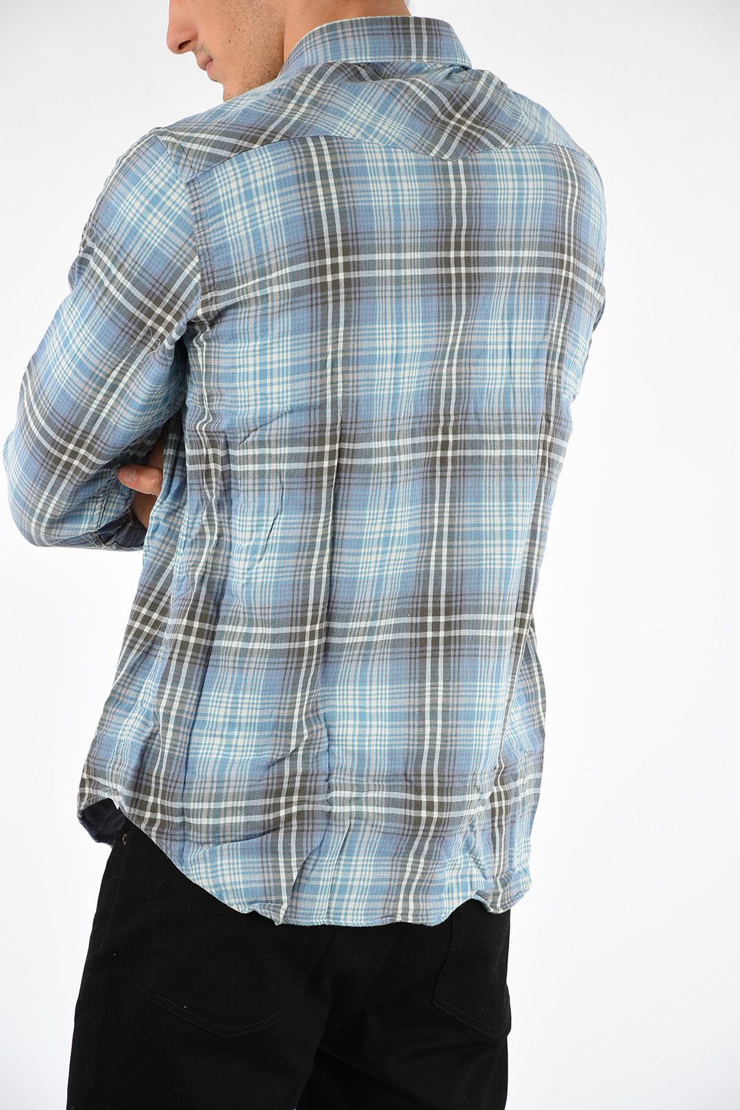 Checked Checked Western Classic Classic Western Classic Shirt Shirt Western Checked Shirt 7YfvgIby6