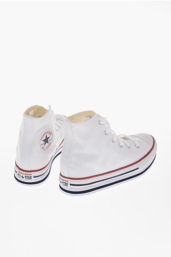CHUCK TAYLOR ALL STAR 4cm Canvas Platform sneakers