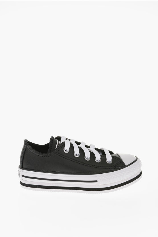 CHUCK TAYLOR ALL STAR 4cm Leather Platform sneakers