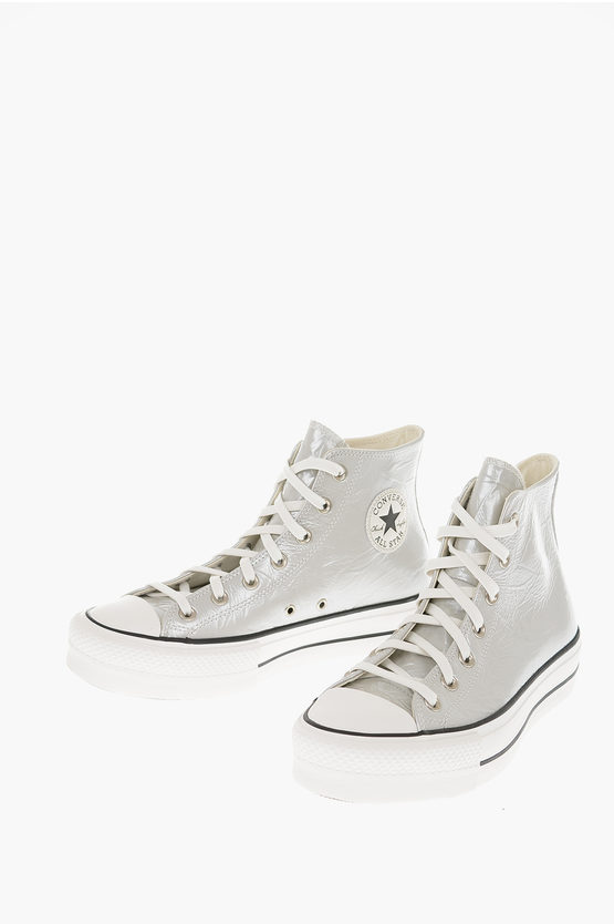 CHUCK TAYLOR ALL STAR 5cm Leather Platform sneakers