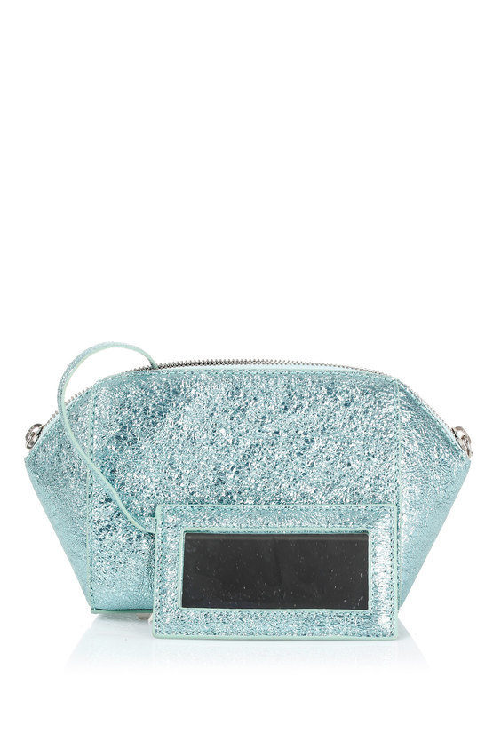Clutch Bag with Inside Mirror