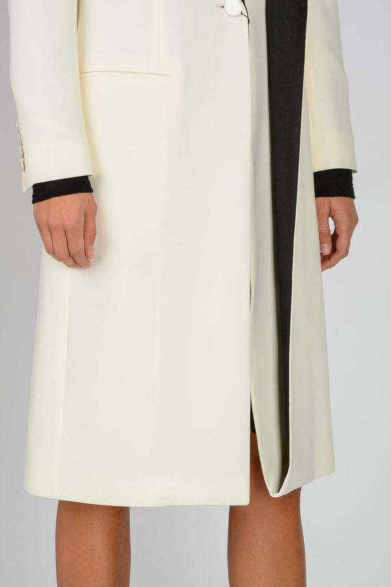 Coat With Silk Details
