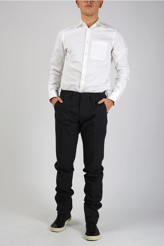 Cotton and Wool Pants