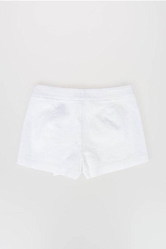 Cotton Blend Shorts