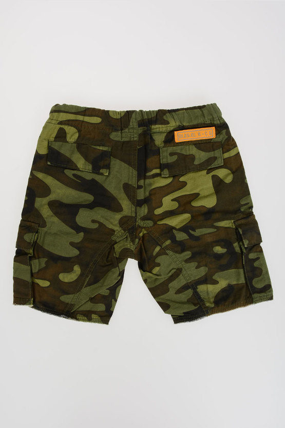 Cotton Camouflage PAULI Shorts