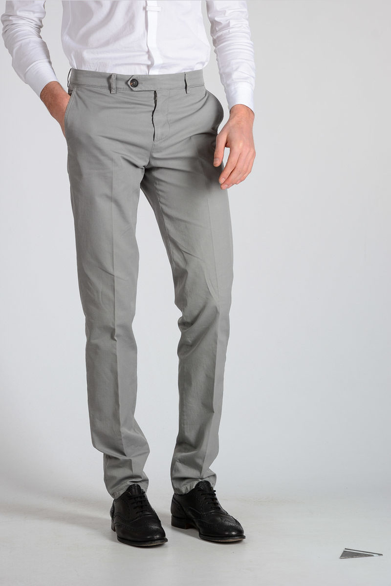 Outlet Brand New Unisex Explore Cotton Chino Pants Spring/summer Brunello Cucinelli pCL9G