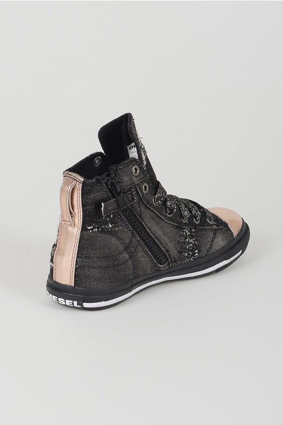 Cotton High Sneakers