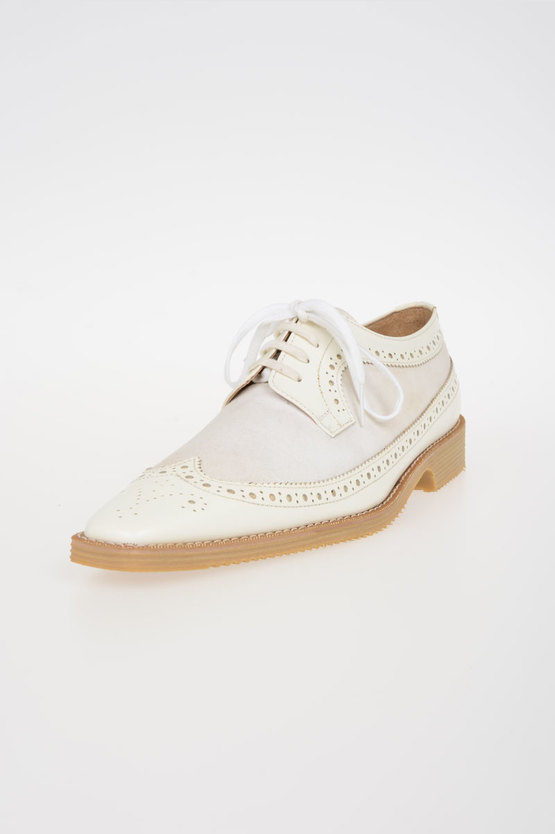 Cotton Leather Classic Shoes